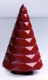 Schokoladeform Tannenbaum