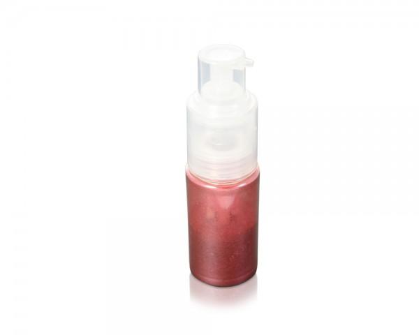 Perlglanzpuder rot Pumpzerstäuber