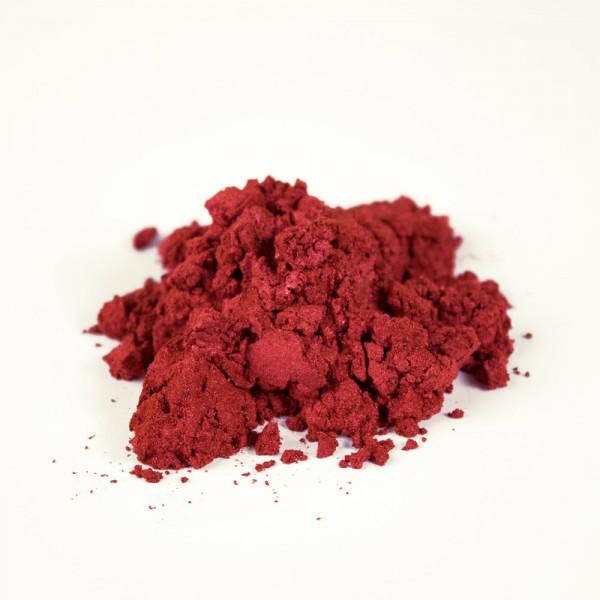 Perlglanz Pulverfarbe Ruby, 20 g