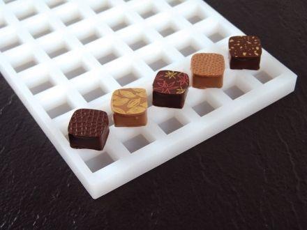 Silikonform Chocoflex Quadrat