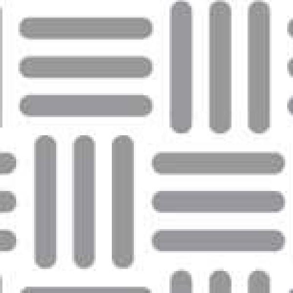 Dekorschablone Gitter 40 x 60 cm