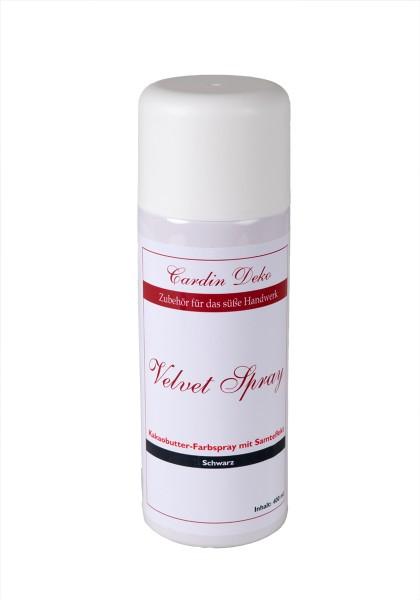 Velvet Spray Schwarz 400 ml