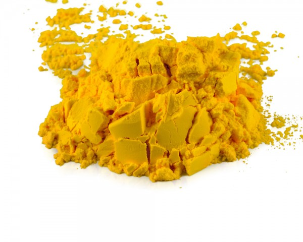 Schokoladenfarbe gelb