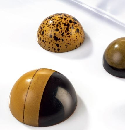 Schokoladeform XL Halbkugeln 35 mm