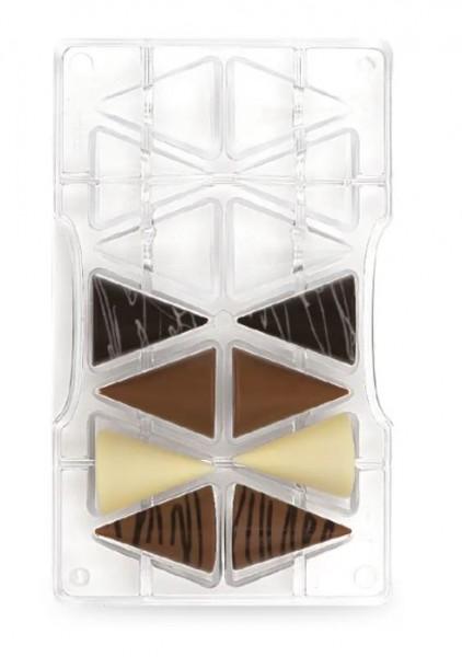 Schokoladeform Kegel mittel