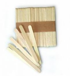 100 Eisstiele Holz