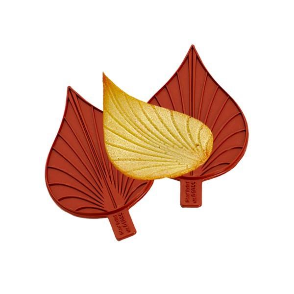 Blätter zum Zuckergiessen 11 cm