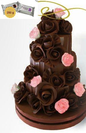 Modellierschokolade braun 250 g
