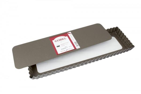 Tarte-Form gewellt rechteckig 35 x 11 cm