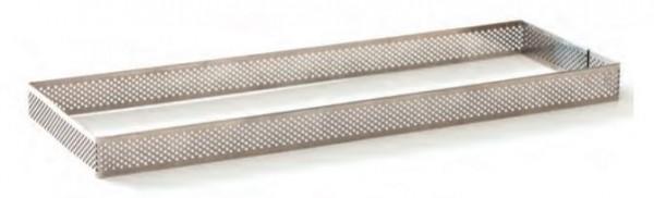 Tartelette-Ring gelocht 8 x 19 cm rechteckig
