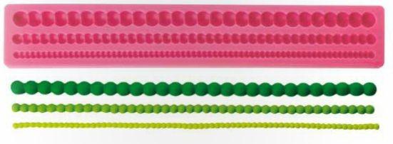 Silikonform Perlenkette