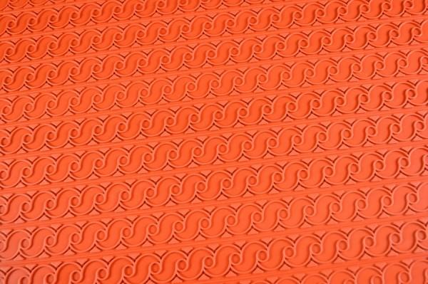 Reliefmatte Silikon Bänder