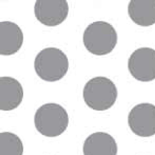 Dekorschablone Punkte groß 60 x 40 cm