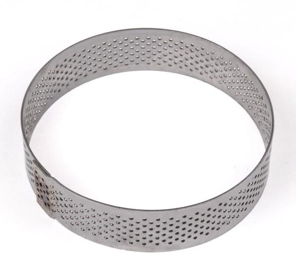 Tartelette-Ring gelocht 8 cm