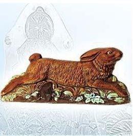 Schokolade-Hohlform springender Hase