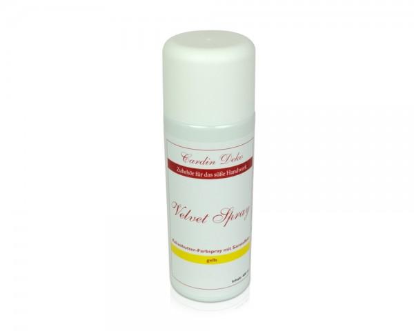 Velvet-Spray gelb