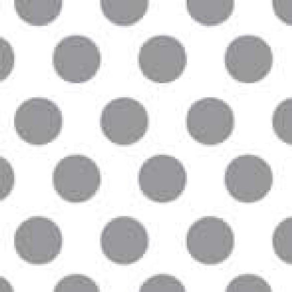 Dekorschablone Punkte klein 60 x 40 cm