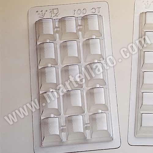 Schokoladeform Tafel TC001 Blister