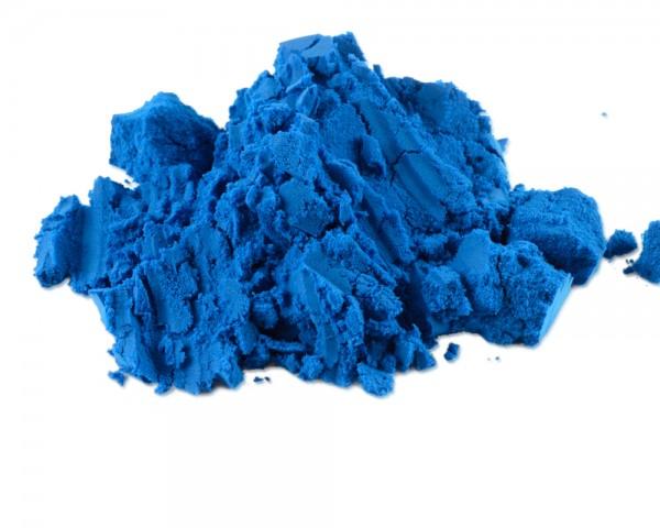 Schokoladenfarbe blau